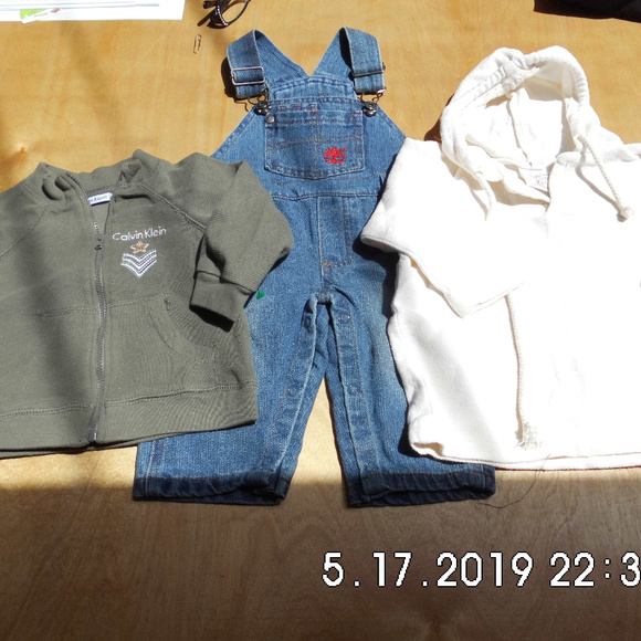 Calvin Klein Other - Baby Calvin/Timberland/Hoodie 6/9 M